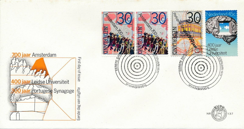 FDC: 700 years Amsterdam
