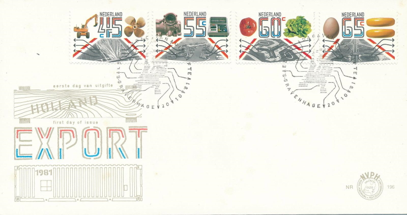 FDC export, 1981