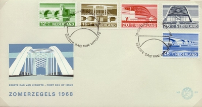FDC: Summer Stamps 1968
