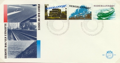 FDC: Traffic and Transport, 26 August 1980